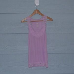 💜Mossimo lace lined tank💜